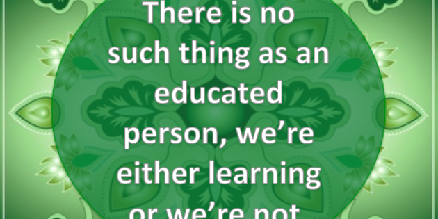 education, learning or not
