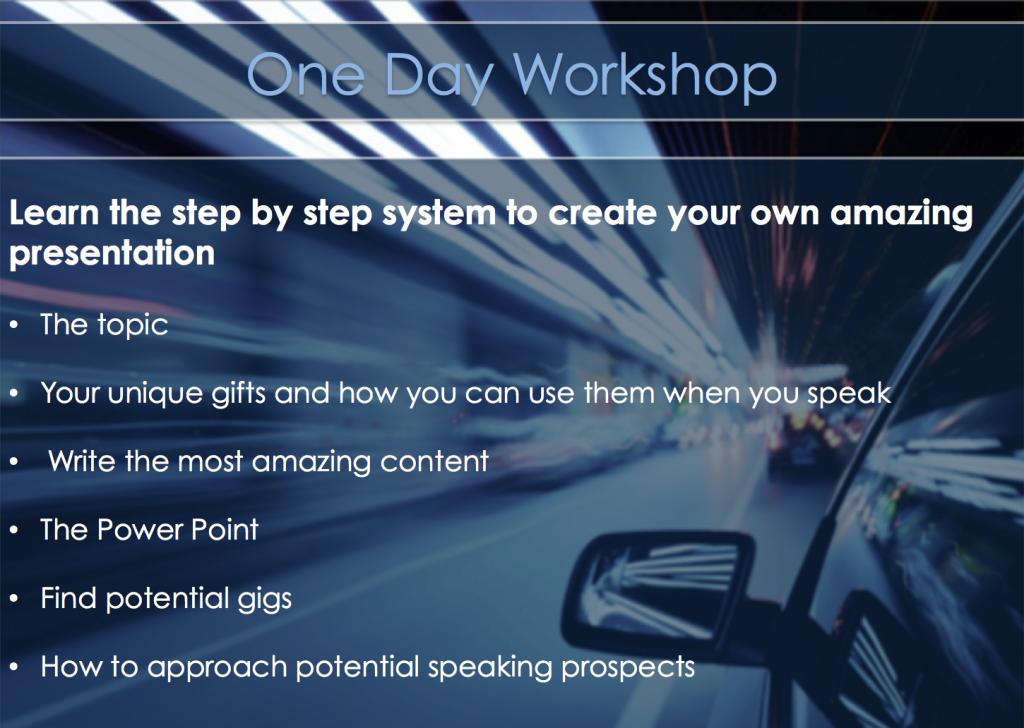 Speaking workshop image