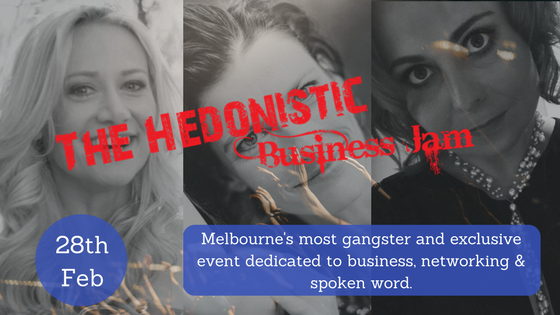 the hedonistic way business networking event melbourne