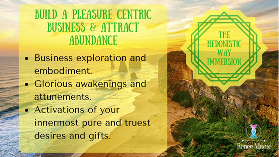 The Hedonistic Way Immersion, business retreat