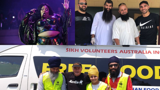 Lizzo, sikhvolunteersaustralia, changing the face of australia,