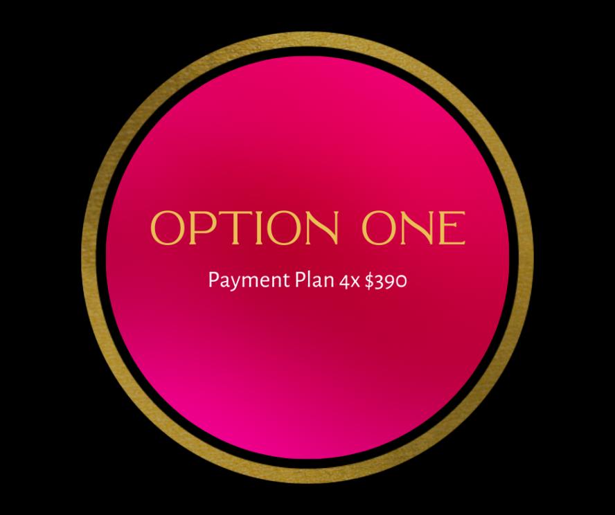 Option One. Pay Upfront(3)